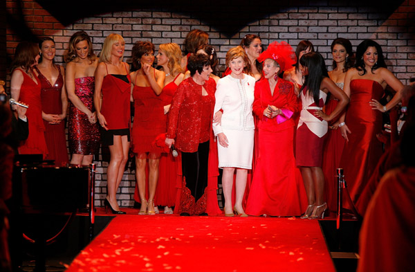 The Heart Truth Red Dress New York Fashion Week