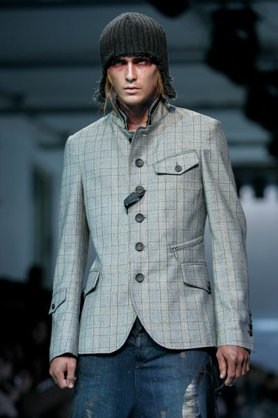 extravagant and provocative mens collection by john galliano