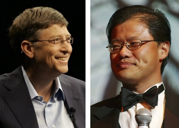 Bill Gates vs. Jerry Yang