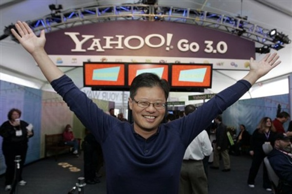 yahoo go 3.0 jerry yang at ces conference in las vegas