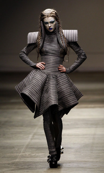 gareth pugh london fashion week