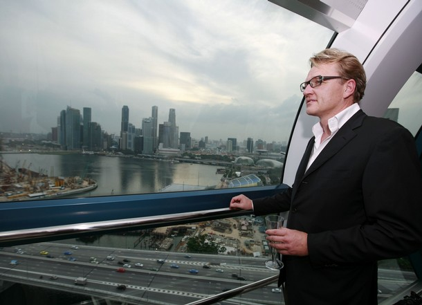 Florian Bollen, chairman of the Singapore Flyer
