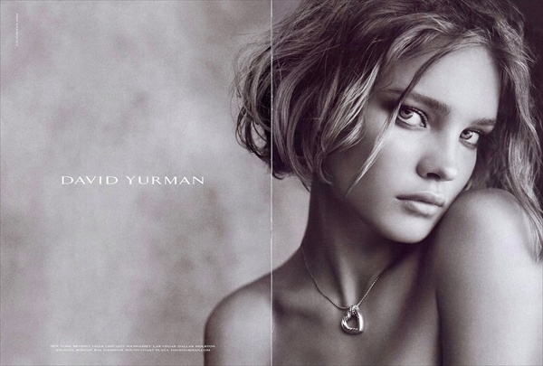 Natalia Vodianova for David Yurman Spring/Summer 2008 collection