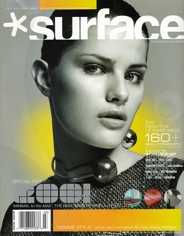 isabeli fontana surface magazine cover