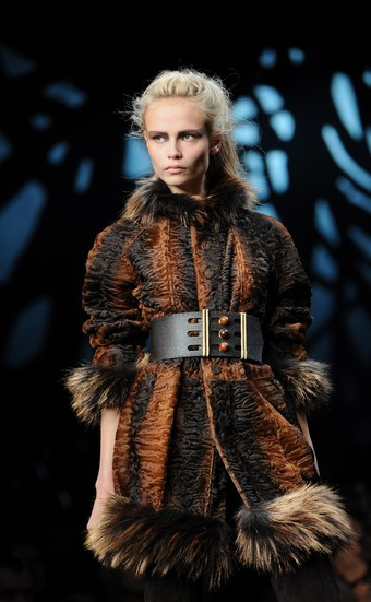 Fendi autumn/winter 2008/2009 collection at Milan Fashion Week