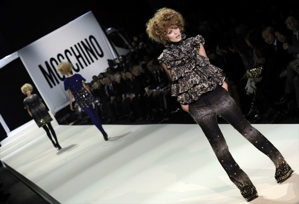 Moschino Cheap&Chic autumn/winter 2008/2009 collection at Milan Fashion Week