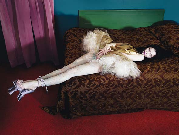 pin-up editorial w magazine march 2008 photographed by mert & marcus