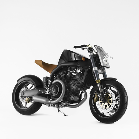 Voxan Café Racer Super Naked by Philippe Starck
