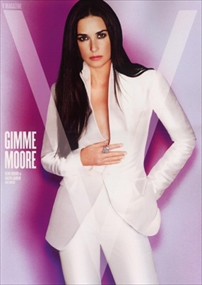 Demi Moore by Mario Testino for V magazine