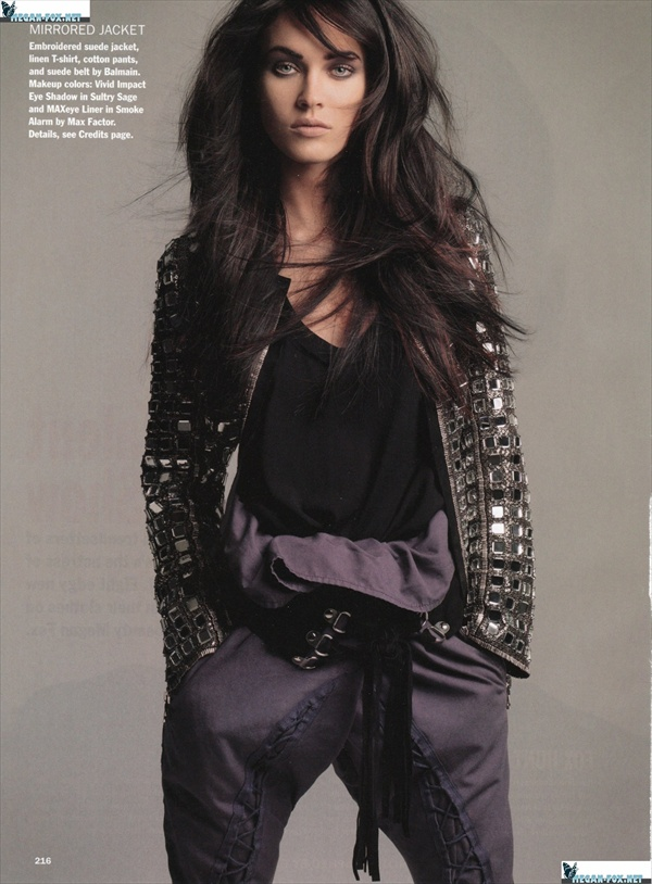 megan fox allure march 2008