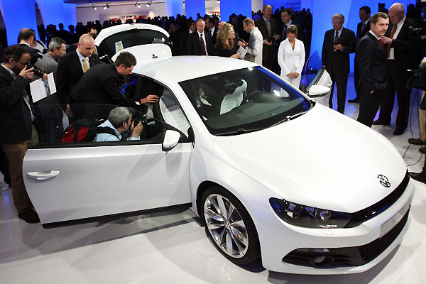 Volkswagen Scirocco at Geneva International Motor Show