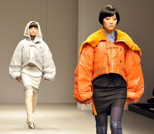 mikio sakabe at tokyo fashion week march 11 2008