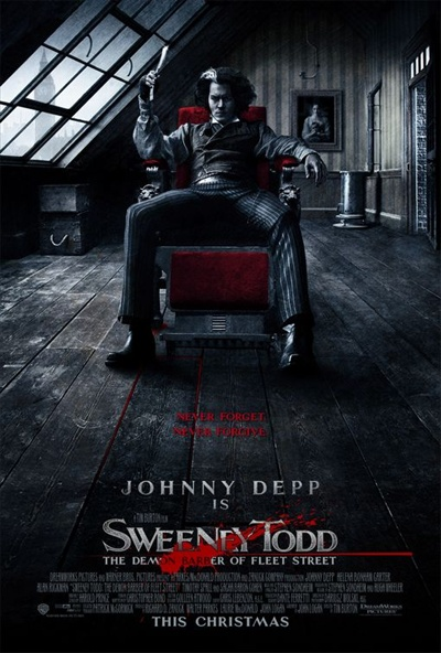 Sweeney Todd, Best Movie Poster 2007