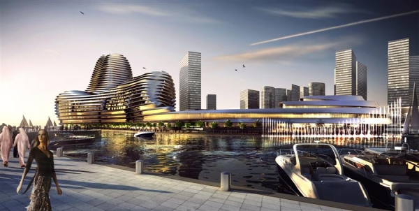 Abu Dhabi World Trade Center by Foster Partners