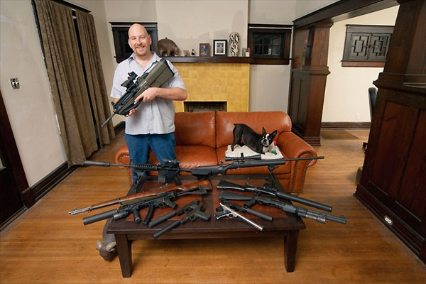 Armed America: Portraits of Gun Owners in Their Homes by Kyle Cassidy