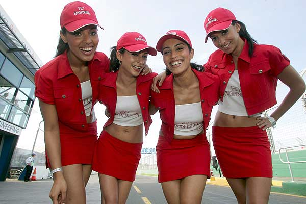 formula one girls