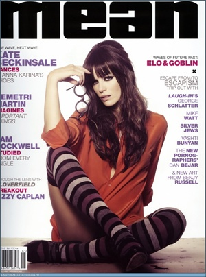 Kate Beckinsale / Mean Magazine april 2008 cover