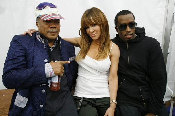quincy jones sean diddy combs and robin antin