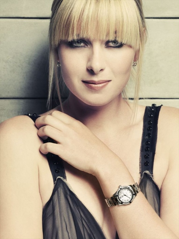 Maria Sharapova - photo shoot for a new ad campaign for TAG Heuer (March 2008)