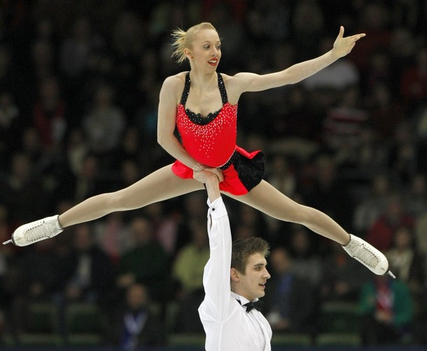 stacey kemp and david king from great britain