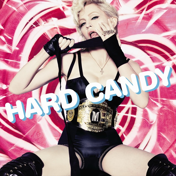madonna on the cover of new album hard candy april 2008