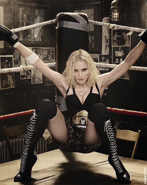 Madonna for Hard Candy album / Promo photo by Steven Klein