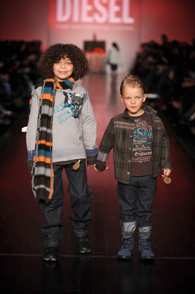 Jeanne Beker's and BRATZ present Diesel Kids Fall 2008 Collection at L'Oreal Toronto Fashion Week.