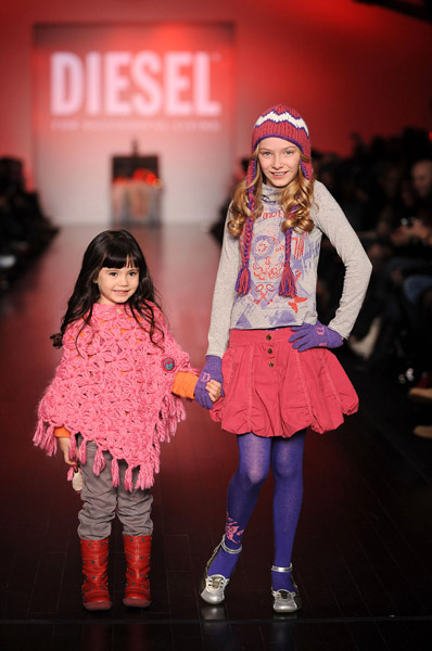 eanne Beker's and BRATZ present Diesel Kids Fall 2008 Collection at L'Oreal Toronto Fashion Week.