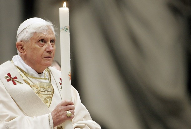 pope benedicte xvi easter mass sunday vatican