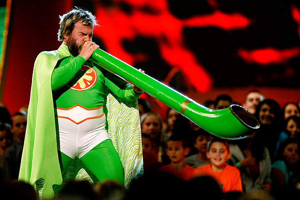 Джек Блэк Jack Black Kid's Choice Awards
