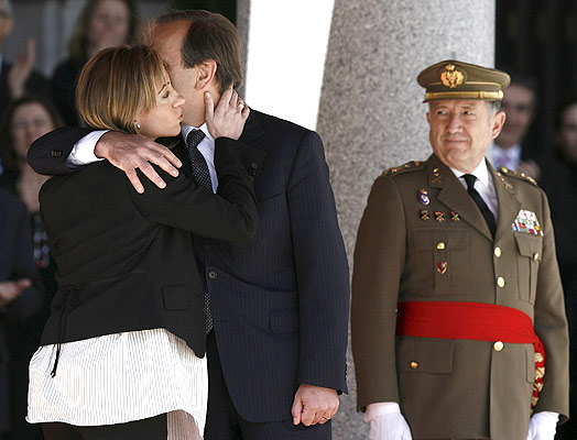 carme chacon new defense minister of spain