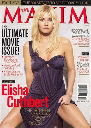 Elisha Cuthbert - Maxim Magazine US May 2008 cover
