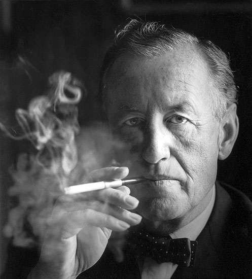 Ian Fleming by Horst Tappe, For Your Eyes Only exhibition at Imperial War Museum