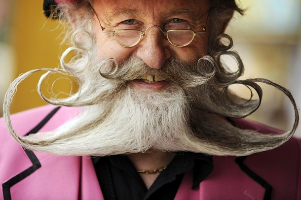 contestants of beard championships in germany
