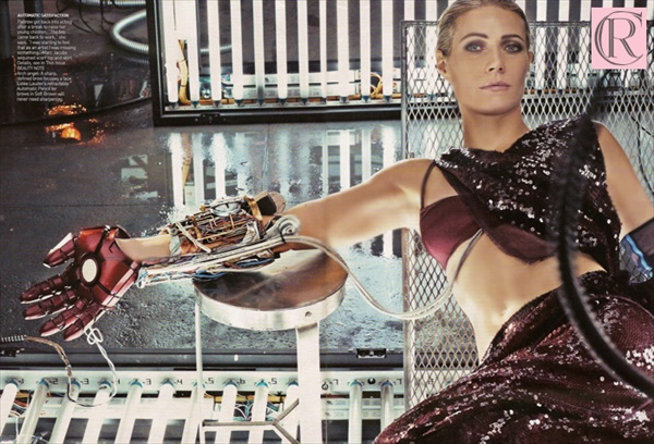 gwyneth paltrow photoshoot by steven klein promoting new movie iron man