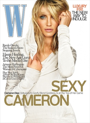 Cameron Diaz - Sexy Cameron - W Magazine May 2008 cover