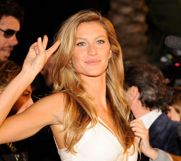 gisele bundchen vogue eyewear launch in ibiza spain