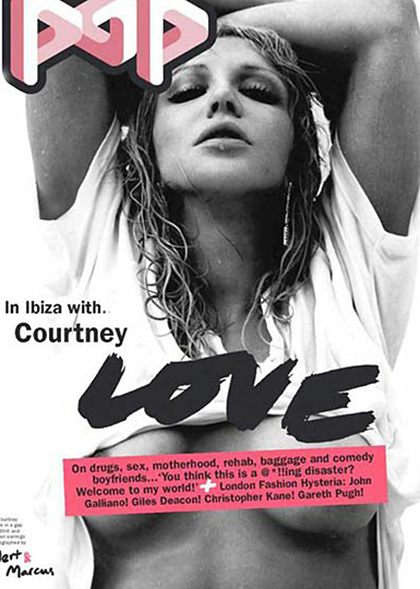 pop magazine with courtney love