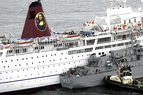 ms mona lisa passenger ship