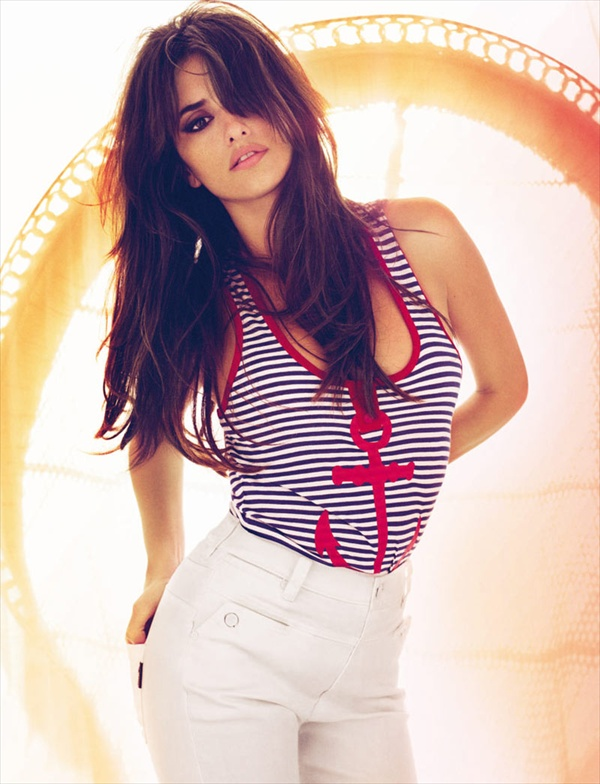 mango photoshoot with penelope cruz spring summer 2008 collection