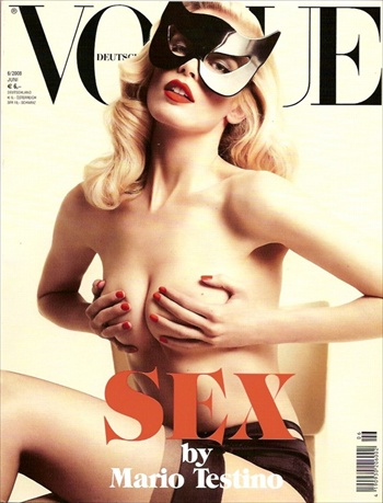 SEX by Mario Testino - Vogue Germany June 2008 with Claudia Schiffer