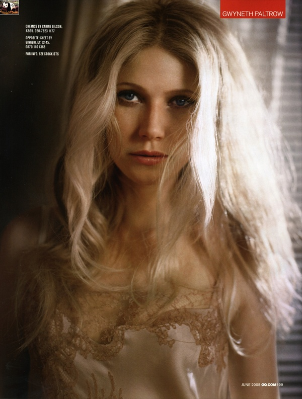 Gwyneth Paltrow - One Sexy Mother - GQ UK Magazine June 2008