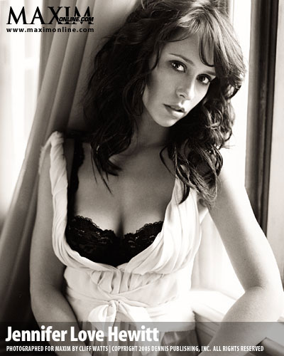 Maxim 2008 Hot 100, 20nd place Jennifer Love Hewitt