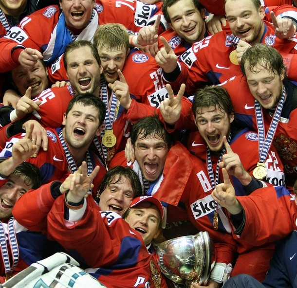 Russia won 2008 IIHF World Hockey Championships