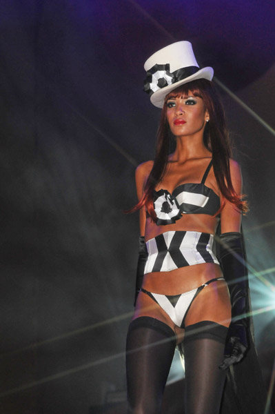 vienna life ball 2008 and agent provocateur models