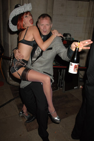 Joseph Corre, Agent Provocateur Co-founder - Life Ball 2008 in Vienna