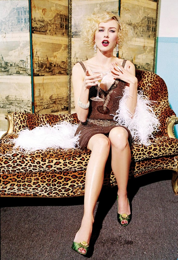 naomi watts photographer ellen von unwerth