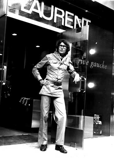 young yves saint laurent