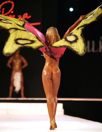 goddess fashion show in argentina