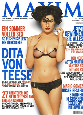 Dita Von Teese - Maxim Germany July 2008
